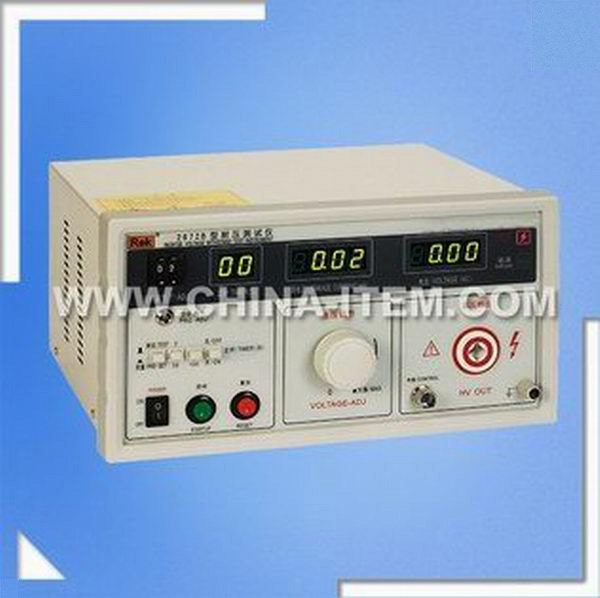 RK2672B Electronic Automatic Safety Test System Hipot Tester, Digital Display Type Voltage Tester