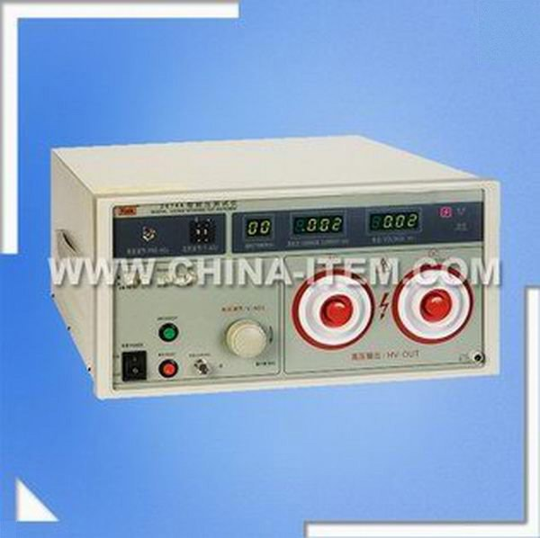 10kv/20kv 10mA DC Hipot Tester, Withstand Voltage Tester, LX-2674A Puncture Tester