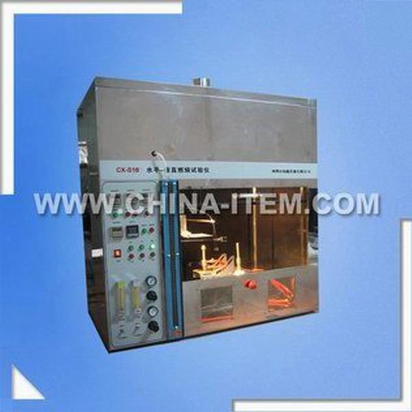 Horizontal Vertical Flame Test for Lab Testing Equipment