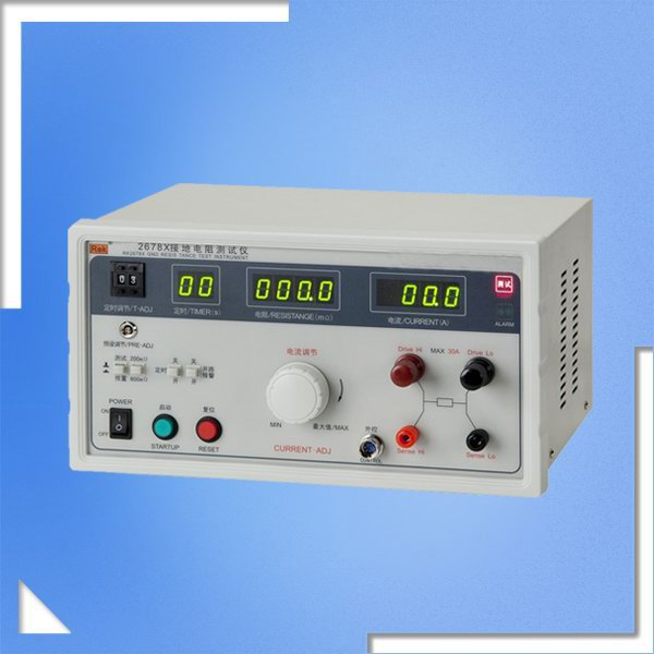 RK2678X GND Resistance Test Instrument, Earth Resistance Tester, GND-Resistance Tester,Grounding Megger