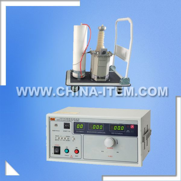 50KV Withstand Voltage Tester, Digital Test Megger, 2674C 25KV/50KV AC/DC 20mA Leakage Current Withstand Voltage Tester
