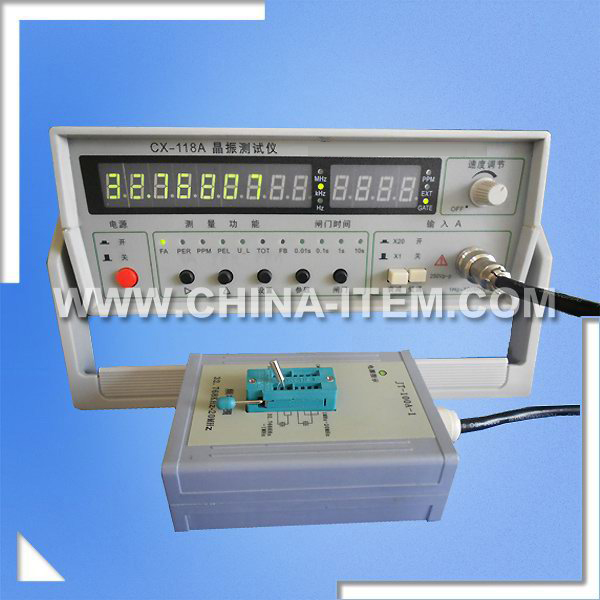 LX-118A 1Hz-100MHz Quartz Resonator for Crystal Industry, Communications, School, Institute
