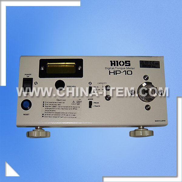 Digital Torque Meter, Torsion Tester to Test The Torsion of All Kinds of Lamp Caps, Hp-10 Torque Meter