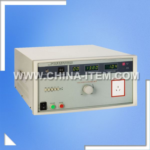 IEC60598 2000VA Leakage Current Tester, 2675C Leakage Current Test Instrument