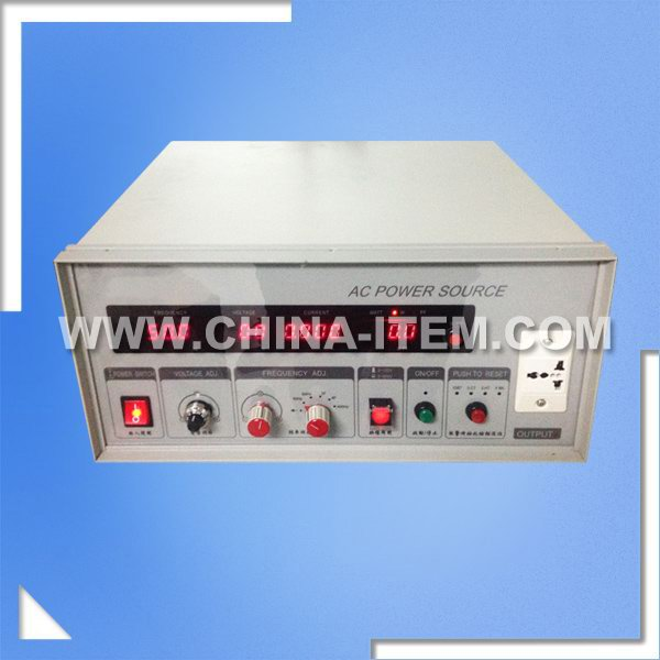 500VA Frequency Conversion AC Power Source, 500VA Single Programmable AC Power Source