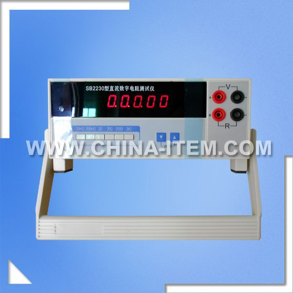 20mohm-2kohm Digital DC Resistance Tester for Resistance Bridge Measurement
