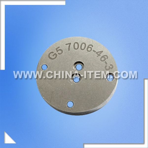 "IEC60061-1 G5 7006-46-3 ""Go"" and ""Not Go"" Gauge for Unmounted Bi-pin Cap, Not for Use on Finished Lamps"