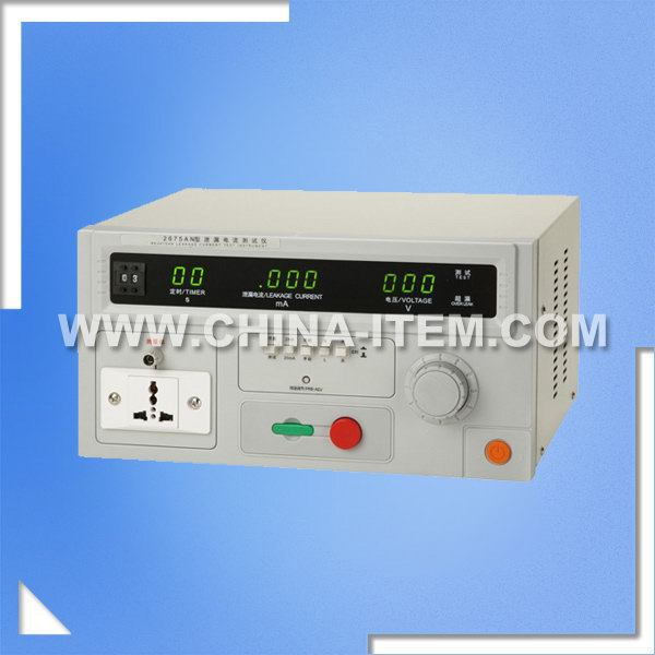 LX-2675AN Leakage Current Tester of RK2675 Series Leakage Current Tester