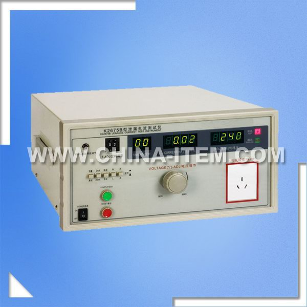 LX-2675B 1000VA 0~2/20mA Leakage Current Tester