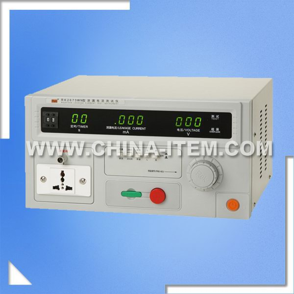LX-2675WN Leakage Current Test Instrument of No Transformer