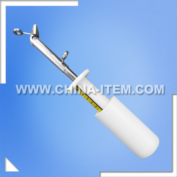 UL1205, IEC60475, IEC60335 Figure 7 Test Finger Nail of Insulating Material with 50N Force Gauges