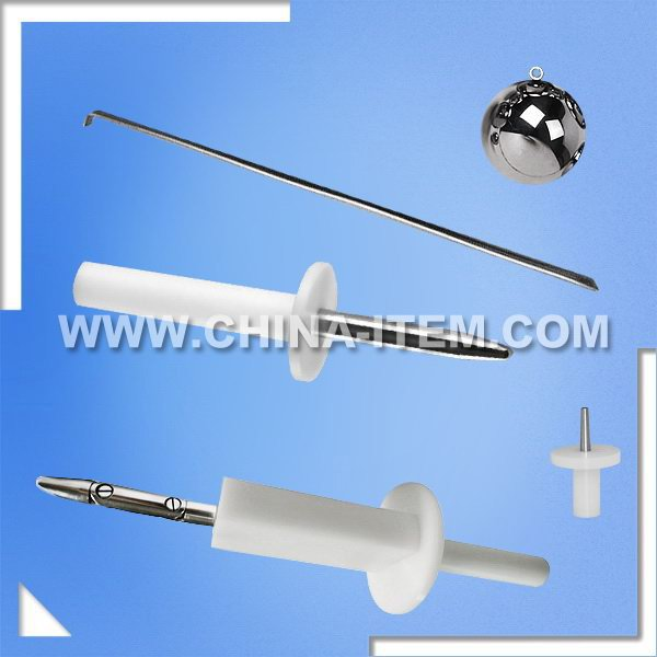 UL 60065 / EN 60065 / IEC 60065 Test Probe Kit of Unjointed Finger Probe SM970C & Test Hook SM1065 & Impact Test Steel Ball