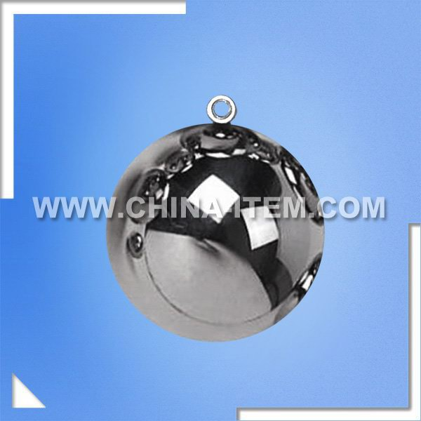 EN IEC 60950 Figure 4A / EN IEC 60065 Figure 8 - 50mm Impact Test Steel Ball with Ring