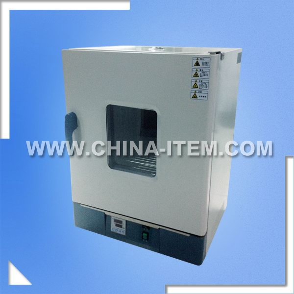Electric Heat Air Blast Drying Oven, Temperature Controlled Small Drying Cabinet