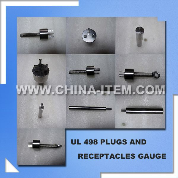 UL 498 Plugs and Receptacles Gauge, UL498 Plugs and Receptacles Blades Test
