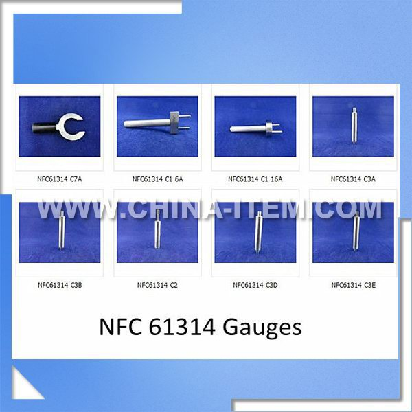 NFC 613-14 French Plug and Socket Gauges