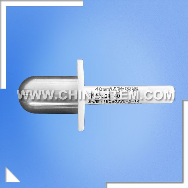 Stainless Steel Stirrer Test Finger Probe 40mm of IEC 60335-2-14