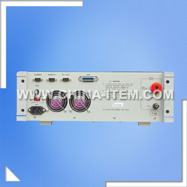 TH9101C Hipot Insulation Tester, High Voltage Insulation Tester,  Withstanding Voltage and Insulation Tester