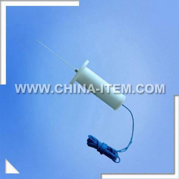 IEC60884 Fig10 Socket Protective Test Probe With 1N Force
