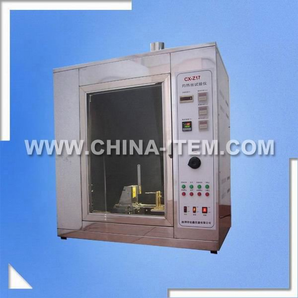 IEC60695 Glow Wire Tester,Glow Wire Meter Light-Off Temperature Tester,Glow Wire Chamber